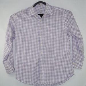 Peter Millar Mens Nanoluxe Long Sleeve Shirt Sz XL